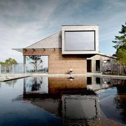 maison en bois design