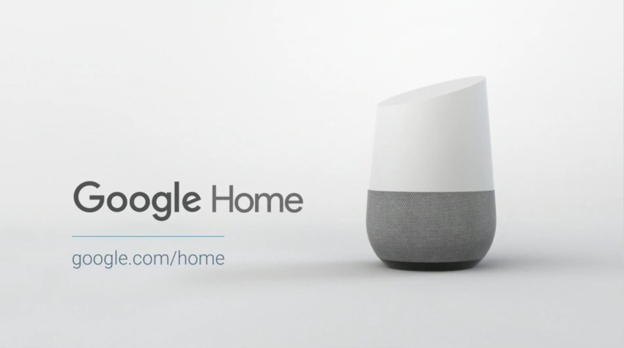 Google-Home assistant de maison