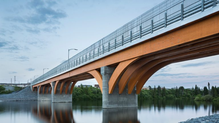 Pont Design en bois
