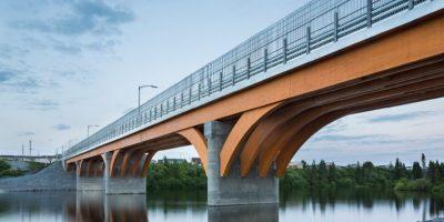 Un pont de bois de 160 m à Mistissini