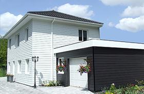 maison moderne en ossature bois