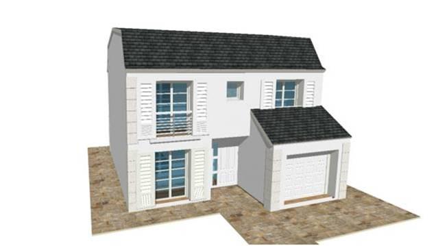 Constructeur Maison Modele Plan Photo Mansart 4 Pentes
