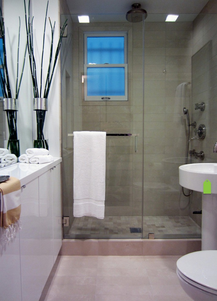 6 DESIGN TIPS TO MAKE A SMALL BATHROOM BETTER