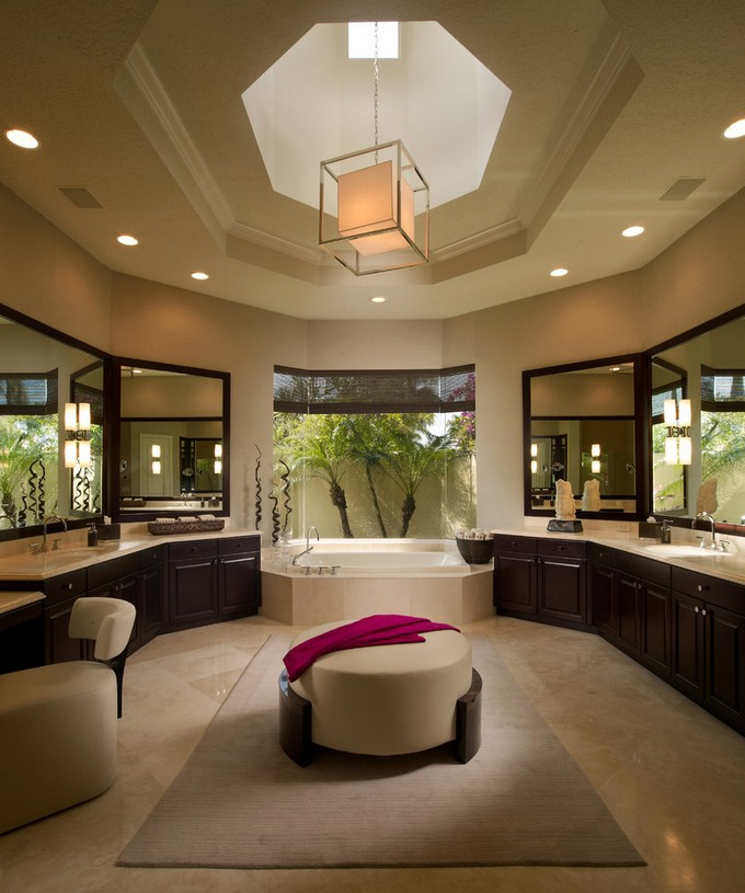 Amazing Contemporary rugs for your luxury bathroom