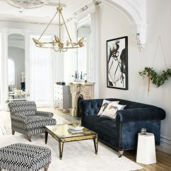 Living Room Color Schemes With Navy Blue Storage Cabinets 5 Brilliant Ways To Master The Scheme And Gold Trend This Spacious
