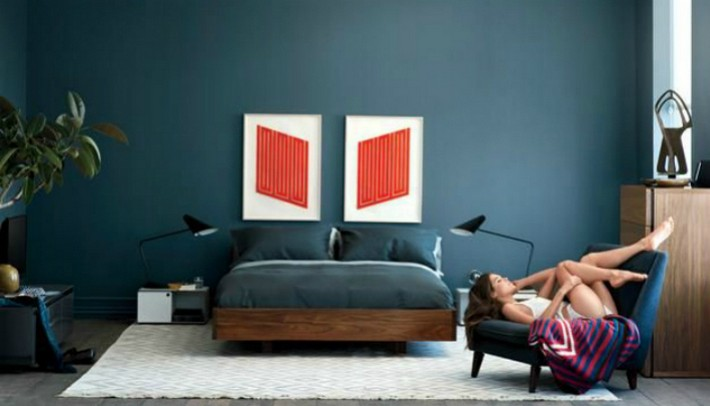 Design Trends Mens Bedroom Decorating Trends  News and