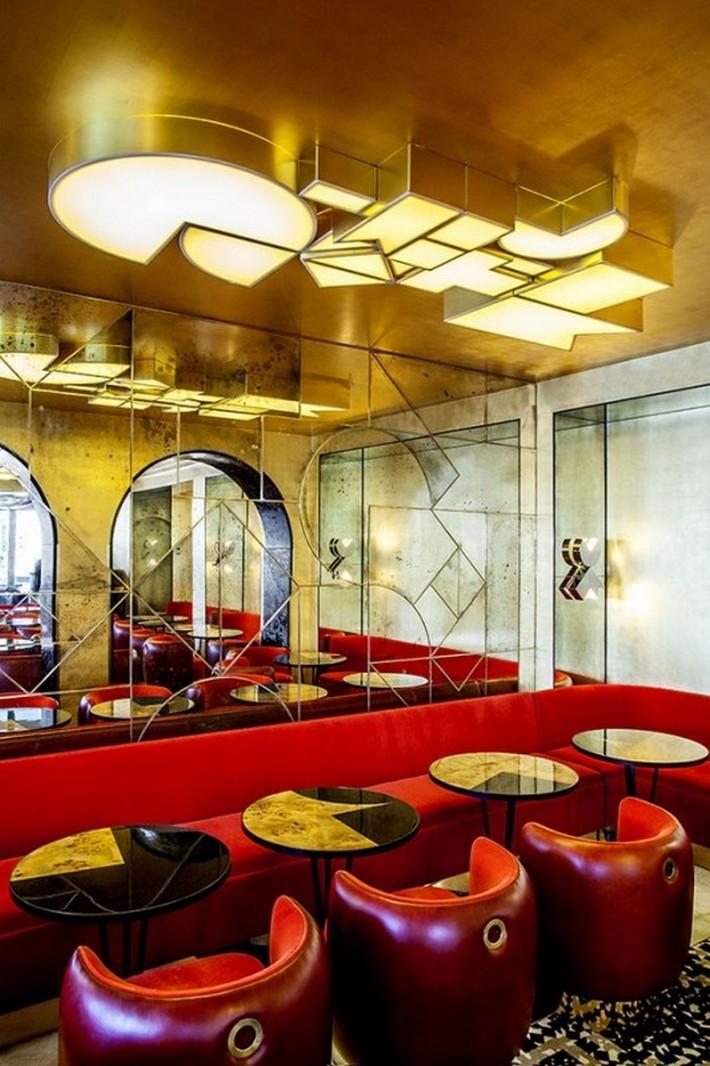 Caf Franais Exclusive Design By India Mahdavi News