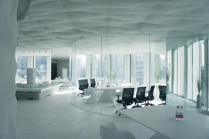 Kengo Kuma Mesh Faade for Shanghai Office Tower  News