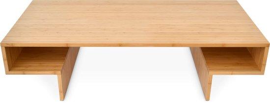 Table Basse Design Rectangulaire Avec Rangement Thao En Naturel