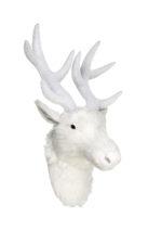 deer-head-h380xd220mm-white