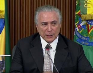 Resultado de imagem para Michel Temer confirma visita à Paraíba para inaugurar a transposição do São Francisco