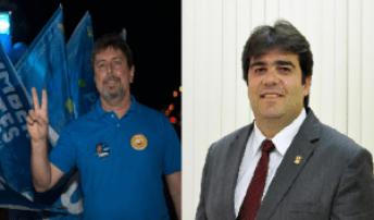Humberto Pontes (PTdoB) e Eduardo Carneiro (PRTB) foram eleitos no último domingo (2)