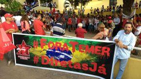 Protesto em João Pessoa