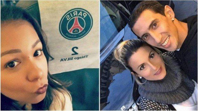 Esposas de Thiago Silva e Di María criticam treinador do PSG