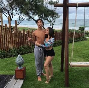 Mel Maia e Erick Andreas (Foto: Reprodução/Instagram)
