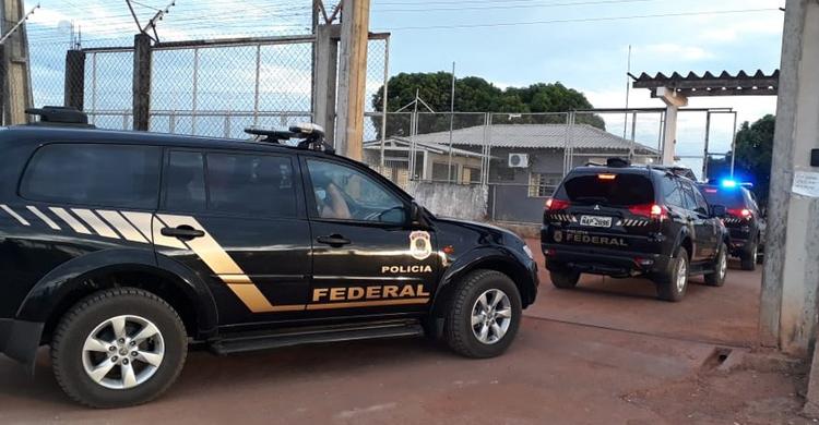 Resultado de imagem para PF cumpre operação em Roraima e na Penitenciária de Mossoró