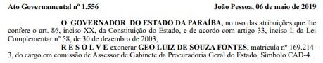 sss - Servidora presa na 4ª fase da Operação Calvário é exonerada pelo Estado