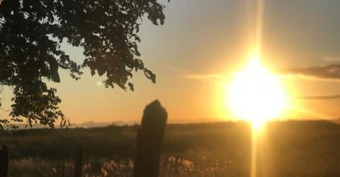 O amanhecer em Marizópolis, alto Sertão da Paraíba