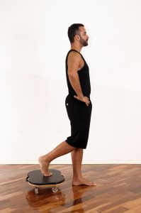 Standing Hip Stretch 1