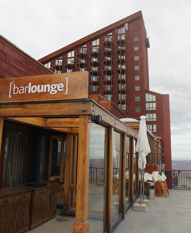 Bar-Lounge O LUXO DE  VALLE NEVADO