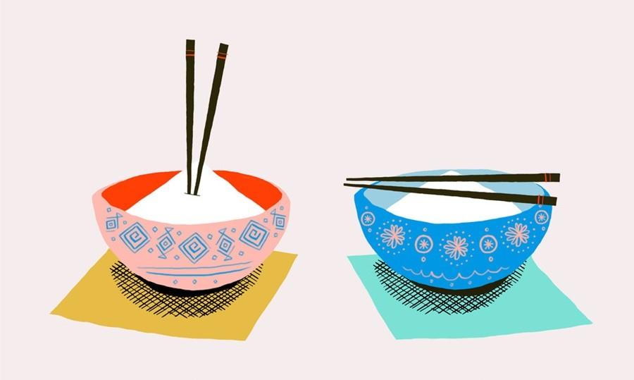 hashi-no-arroz Etiqueta  Social ao Redor do Mundo