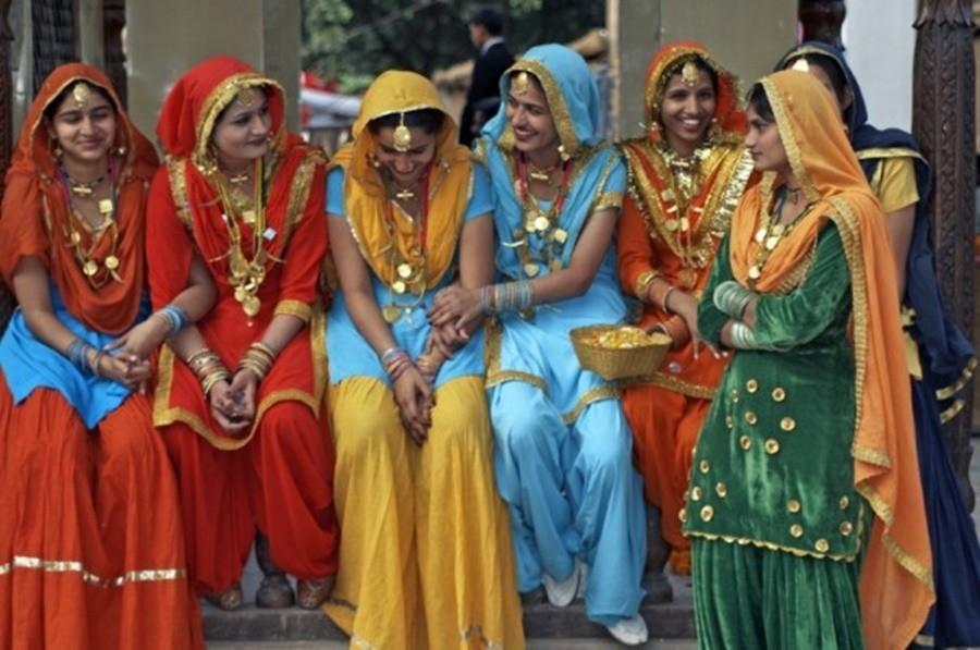 roupas-indiana Etiqueta  Social ao Redor do Mundo