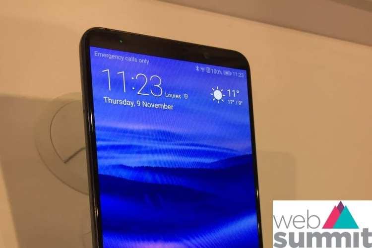 Novo Huawei Mate 10 Pro foi à WebSummit e tem inteligência