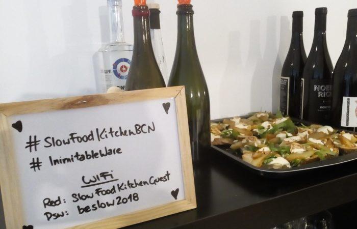 spazio cucina dell'associazione Slow Food