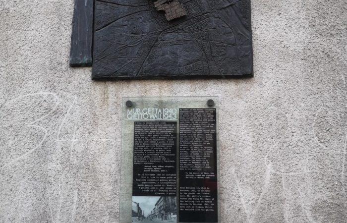 Frammento di muro del Ghetto di Varsavia