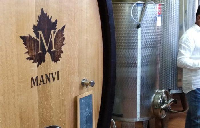 Visita all'azienda Manvi Wines di Montepulciano_botti