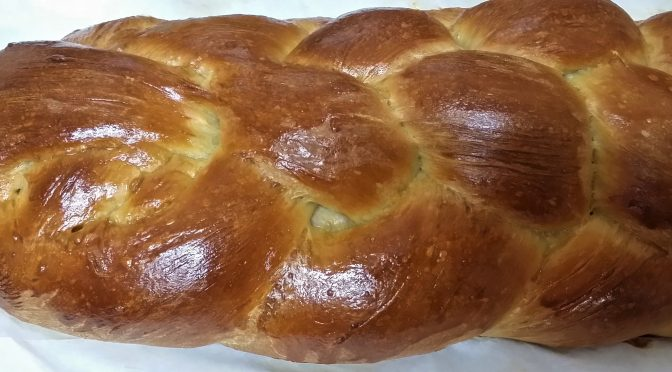 Six Strand Braided Challah