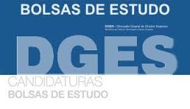 DGES - Bolsas de estudo