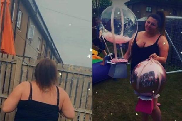 Balão escapa e leva embora R$ 800 que mulher ia ganhar de aniversário