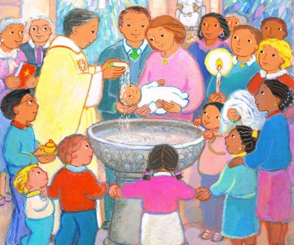 Le baptême, Premières Prières pour la Famille, Maïte Roche, Mame 2009