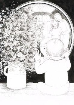 Le miroir, Maïte Roche, Panorama, 1985