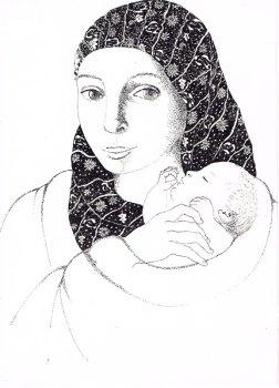 L'enfant porte l'Espérance - MaÏte Roche, Panorama