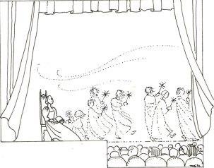 La vie qui va, elles l'ont fait leur théâtre, Maïte Roche, Panorama, 1987