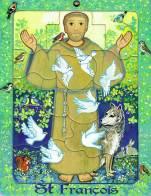 Saint François d'Assise, puzzle 16 pièces, Maïte Roche, Mame