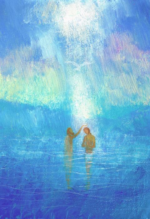 Le baptême, Le temps de Noël, Éditions Fleurus, Maïte Roche