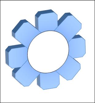 POWERPOINT_2013_EX_ENGRENAGE_V3D Powerpoint 2013 : Comment faire un engrenage 3D sur Powerpoint en moins de 8 min.