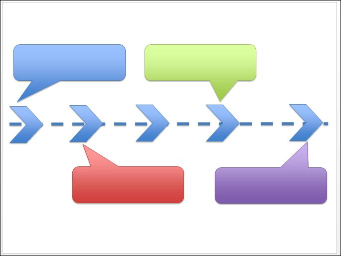 POWERPOINT_2013_EX_TIMELINES Powerpoint 2013 : Comment faire une Timeline sur Powerpoint en moins de 8 min.
