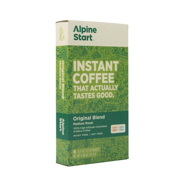 Alpine Start Best Instant Coffee to get your day going