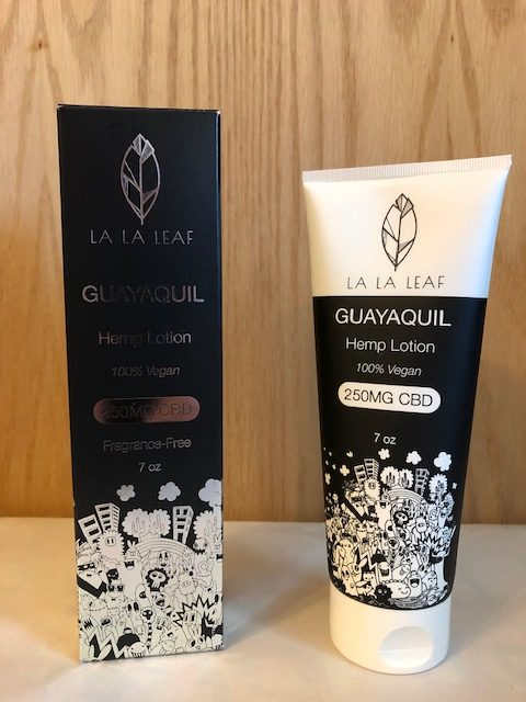 Guayaquil Hemp Lotion- LALA LEAF