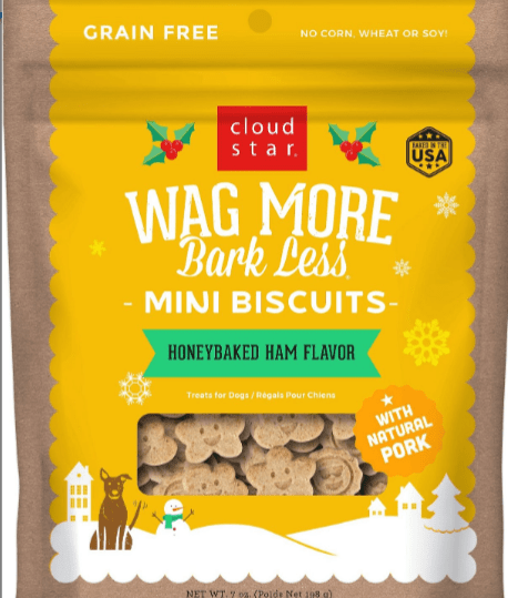 Wag More Bark Less Honey Ham Biscuits