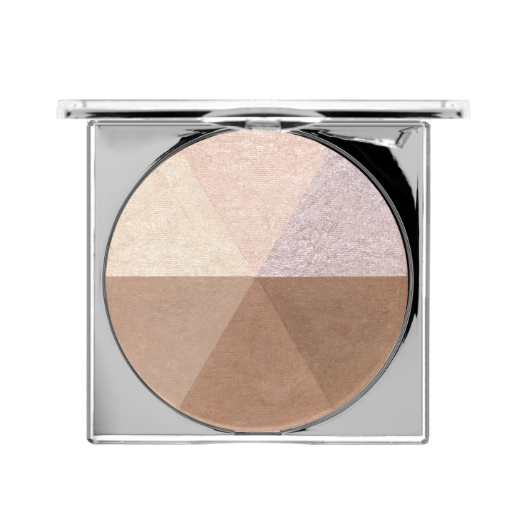 Crystal Clear Jumbo Highlight & Bronzer Palette | PÜR The Complexion Authority