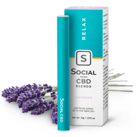 Social CBD Relax | Lavender CBD Vape Pen