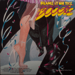 K-Tel - Blame it on the Boogie - front cover.