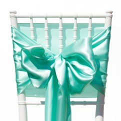 Teal Chair Covers For Wedding Revolving Sale In Lahore Satin Sashes | Mint Green