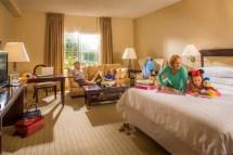 Family Friendly Hotel Rooms - Anaheim Majestic Garden