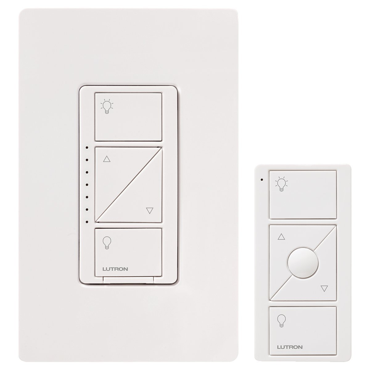 hight resolution of lutron p pkg1w wh caseta wireless 600 watt 150 watt multi location in wall dimmer with pico remote control kit